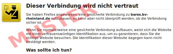 Anleitung: SSL-Zertifikat prüfen und dauerhaft speichern