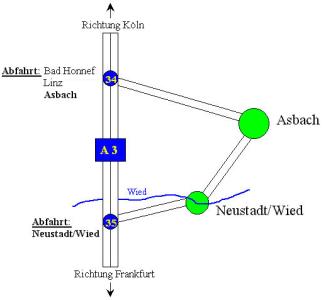 Anfahrtskizze Asbach